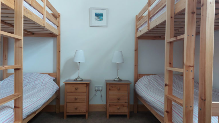 En-suite room sleeps up to four people - perfect for holidays within your household bubble