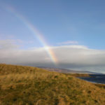 Rainbow - coastal view - Helmsdale - Scotland - Holiday Accommodation
