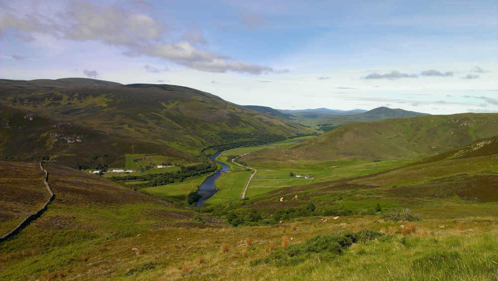 river view - Helmsdale - Scotland - Valley